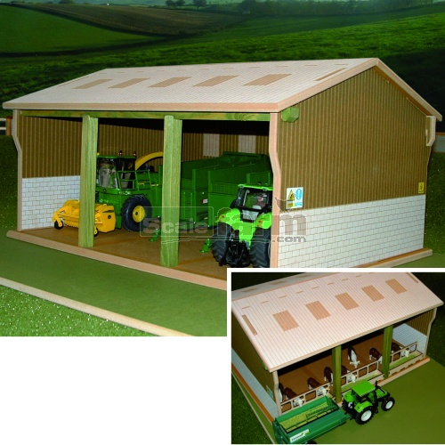 Brushwood Bt5000 Wooden Tractor Amp Implements Shed