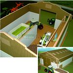 Wooden Arable Storage Shed - Brushwood Toys - 1:32 Scale  (Brushwood BT8100)