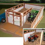 Wooden Slurry Store - Brushwood Toys - 1:32 Scale  (Brushwood BT8550)