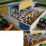 Wooden Cattle Handling Unit - Brushwood Toys - 1:32 Scale  (Brushwood BT8700)