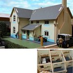 Wooden Farm House - Brushwood Toys - 1:32 Scale  (Brushwood BT8910)