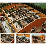 Monster Cubicle Shed - Brushwood Toys - 1:32 Scale  (Brushwood BT8960)