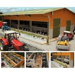 Twin Row Cubicle Shed - Brushwood Toys - 1:32 Scale  (Brushwood BT8965)