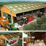 Wooden Euro Livestock Unit - Brushwood Toys - 1:32 Scale  (Brushwood BTEURO2)