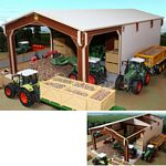 Wooden Euro Style Potato Shed - Brushwood Toys - 1:32 scale  (Brushwood EURO3)