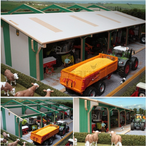 Euro Tractor and Machinery Shed Extension (Brushwood BTEURO5)