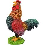 Cockerel - Brown - Bullyland Animal World - Play, Learn, Fun  (Bullyland 62315)