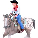 Western Rider - Bullyland Animal World - Play, Learn, Fun  (Bullyland 62641)