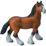 Shire Horse Mare - Bullyland Animal World - Play, Learn, Fun  (Bullyland 62664)