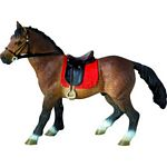 Hannoveraner Stallion - Bullyland Animal World - Play, Learn, Fun  (Bullyland 62682)