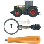 CLAAS Atles 936RZ with Keyring and Screwdriver - Bruder Mini Series  (Bruder 00430)