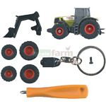 CLAAS Atles 936RZ with Keyring, Frontloader, Twin Tyres - Bruder Mini Series  (Bruder 00431)