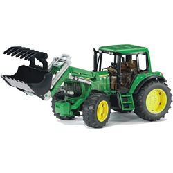 John Deere 6920 Tractor with Frontloader - Bruder - just like the real thing - 1:16 scale (Bruder 02052)