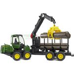 John Deere 1210E Forwarder with Grab and 4 Logs