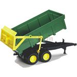 Tipping Trailer (Green) - Bruder - just like the real thing - 1:16 scale  (Bruder 02210)