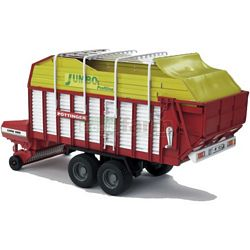 Pottinger Jumbo 6600 Profiline Forage Trailer - Bruder - just like the real thing - 1:16 scale (Bruder 02214)