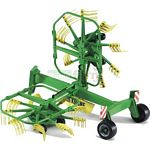 Krone Dual Rotary Lateral Swather - Bruder - just like the real thing - 1:16 scale  (Bruder 02216)