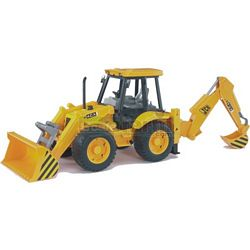 JCB 4CX Backhoe Loader - Bruder - just like the real thing - 1:16 ...