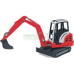 Schaeff HR16 Mini Excavator - Bruder - just like the real thing - 1:16 scale (Bruder 02432)