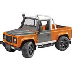 Land Rover Defender Pick Up - Bruder - just like the real thing - 1:16 scale  (Bruder 02591)