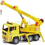 MAN Crane Truck - Bruder - just like the real thing - 1:16 scale  (Bruder 02754)