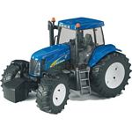 New Holland T8040 Tractor - Bruder - just like the real thing - 1:16 scale  (Bruder 03020)