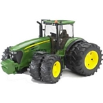 John Deere 7930 Tractor with Twin Tyres - Bruder - just like the real thing - 1:16 scale  (Bruder 03052)