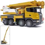 Scania R Series Liebherr Crane Truck with Light and Sound Module - Bruder - just like the real thing  (Bruder 03570)