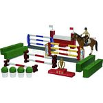 bworld Show Jumping Course with Horse and Rider