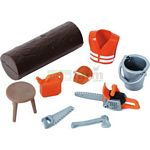 bworld Farming and Forestry Accessory Set - Bruder - just like the real thing  (Bruder 62601)