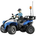 bWorld Police Quad with Policewoman and Accessories (Bruder 63010)