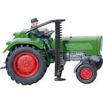 Fendt Farmer IIS Vintage Tractor with Cutter and Driver