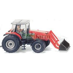 Massey Ferguson 8280 Xtra Tractor with Front Loader - Wiking Scale Models - 1:87 scale (Wiking 3854033)