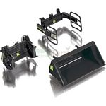 Front Loader Attachment Set A - Bressel and Lade Black