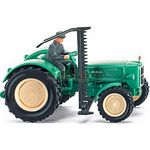 Man 4R3 Vintage Tractor with Cutter - Wiking Scale Models - 1:87 scale  (Wiking 8840230)