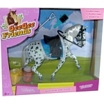 Knabstrupper Horse with Accessories - Gee Gee Friends by Revell  (Revell 27521)