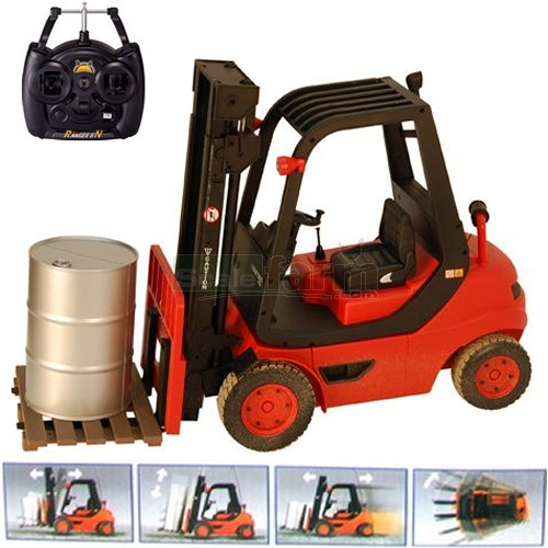 Fork Truck Controls : Hobby engine remote control fork lift truck