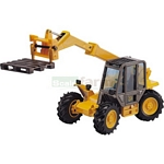 JCB 525-58 Loadall with Telescopic Forks and Pallet - Joal die cast - 1:35 scale  (Joal 166)