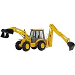 JCB 4CX Sitemaster Backhoe Loader - Joal die cast - 1:35 scale  (Joal 175)
