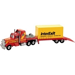 US Articulated Lowboy with Container - Joal die cast - 1:50 scale  (Joal 176)