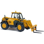 JCB 531-70 Loadall with Forks and Pallet - Joal die cast - 1:35 scale  (Joal 184)