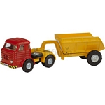 Pegaso Truck with Tipping Trailer - Joal die cast - 1:38 scale  (Joal 212)