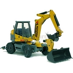 Haulotte MJX970 Multijob with Bucket - Joal die cast - 1:50 scale  (Joal 218)