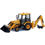 JCB Midi CX Sideshift Backhoe Loader - Joal die cast - 1:35 scale  (Joal 221)