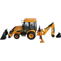 JCB Midi CX Backhoe Loader - Joal die cast - 1:35 scale (Joal 229)