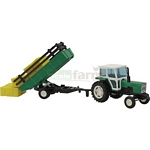 Ebro 6100 Tractor with Tipping Trailer - Joal die cast  (Joal 251)