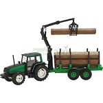 Valtra 6850 Tractor with Grapple Skidder - Joal die cast - 1:35 scale  (Joal 254)