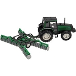 Valtra 6850 Tractor and Disc Harrow
