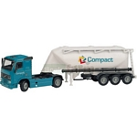 Volvo FH12-420 Truck with Cement Tank - Joal die cast - 1:50 scale  (Joal 333)