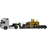 Volvo FH Low Loader Trailer - Joal die cast - 1:50 scale  (Joal 340)
